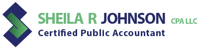 SHEILA R. JOHNSON, CPA, LLC Logo